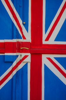 Britse vlag concept