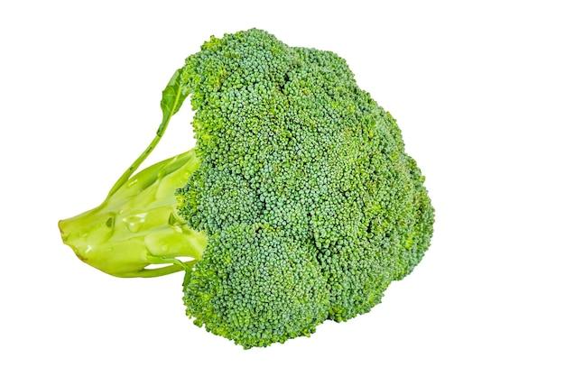 Broccoli isolaat. broccolikool geïsoleerd op een witte achtergrond.