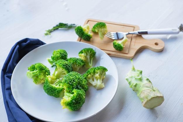 Broccoligroenten voor de gezondheid
