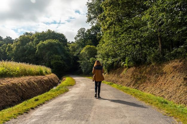 Brocelianda forest trail is een frans mystiek bos in het departement ille-et-vilaine, bretagne, in de buurt van rennes. frankrijk