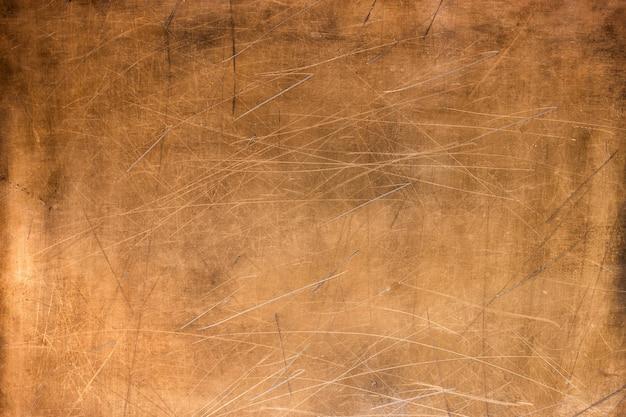 Bronzen textuur, metalen plaat als achtergrond of element voor ontwerp