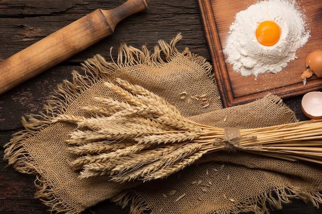 Brood bakken bakkerij concept