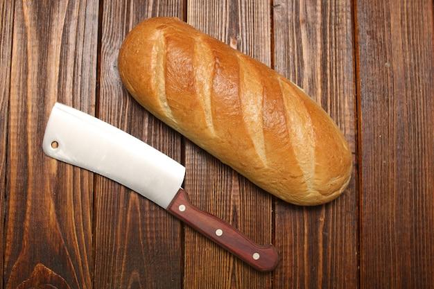 Brood zelfgemaakt warm