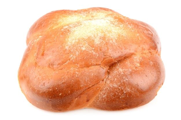 Broodje geïsoleerd op wit