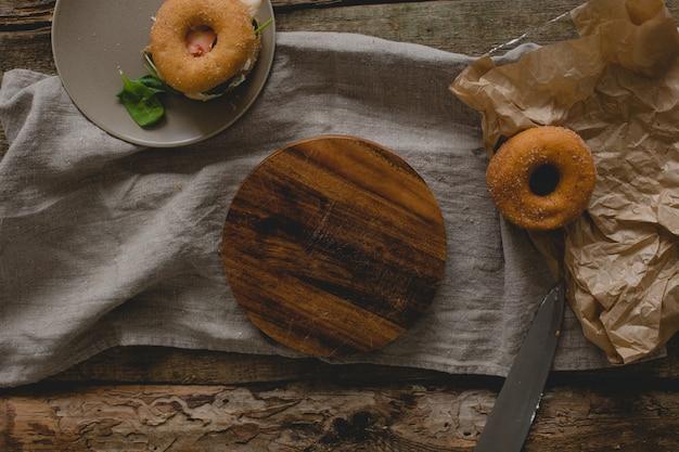 Broodjes donut