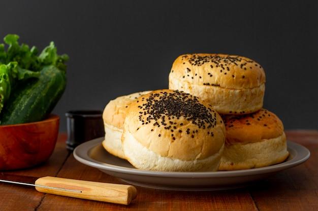 Broodjes voor hamburger