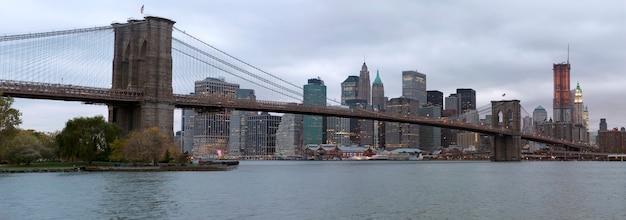Brooklyn bridge, new york, verenigde staten
