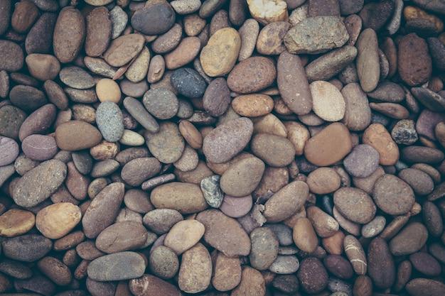 Brown pebbles stenen achtergrond