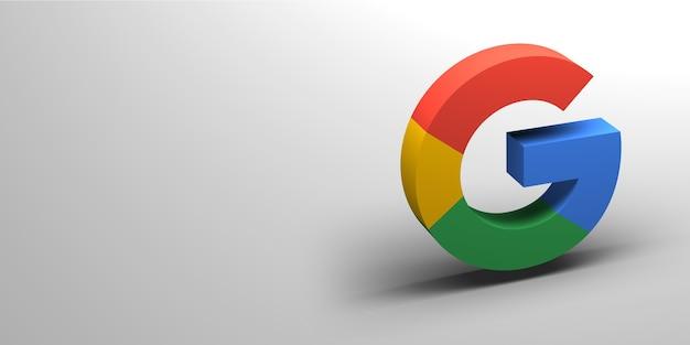 Browser logo 3d render