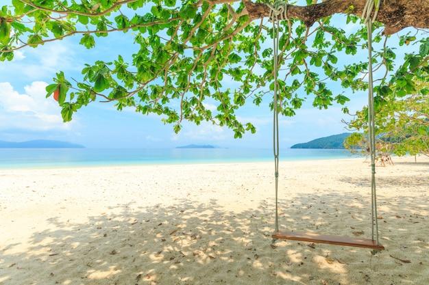 Bruer island, geweldig eiland uit het zuiden van myanmar