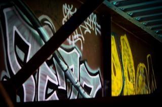 Brug graffiti
