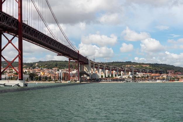 Brug in lissabon, portugal