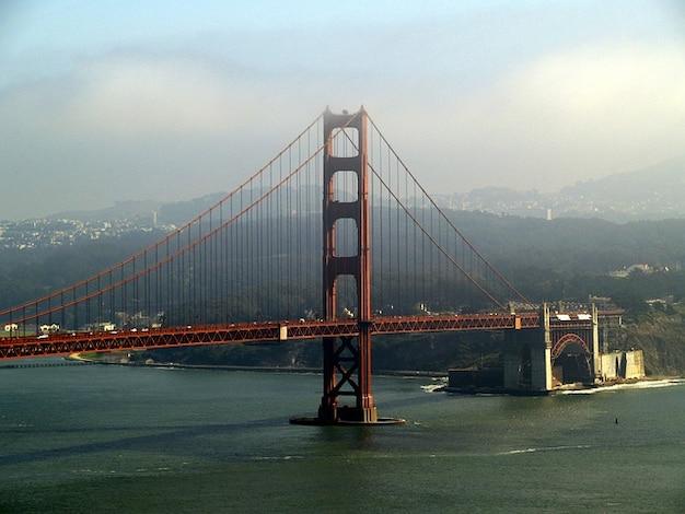 Brug poort francisco gouden californië san usa
