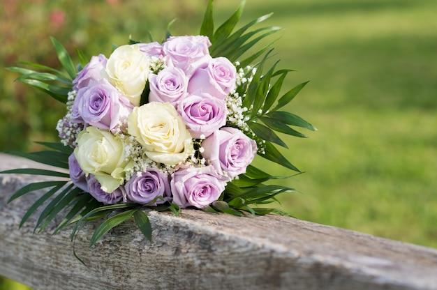Bruid boeket bloemen