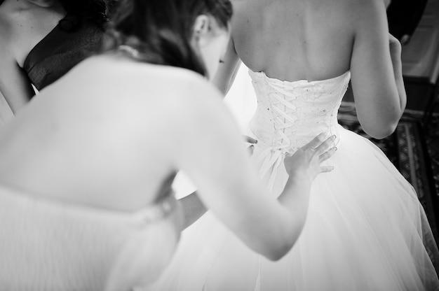 Bruid ochtend