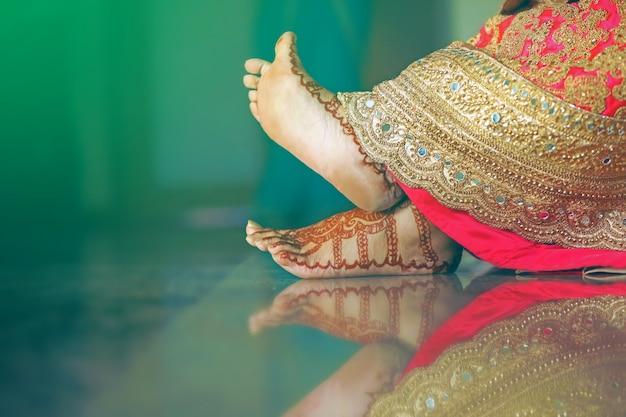 Bruid voet