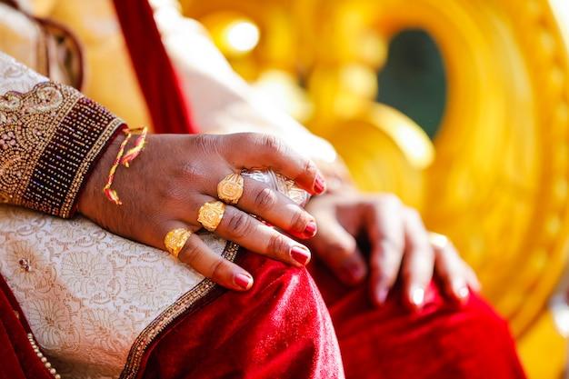 Bruidegom hand