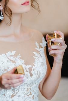 Bruidsparfum op het trainingskamp