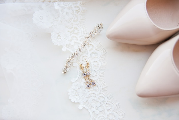 Bruiloft accessoires voor vrouwen