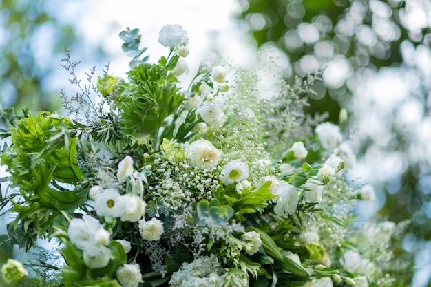 Bruiloft bloemdecoratie