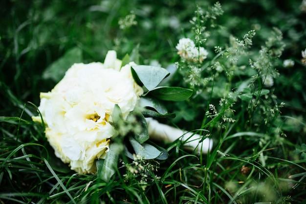 Bruiloft boeket van bruid