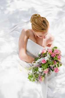 Bruiloft, bruid