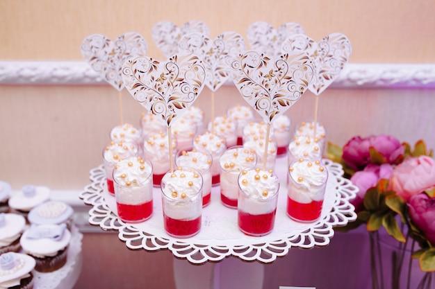 Bruiloft candy bar