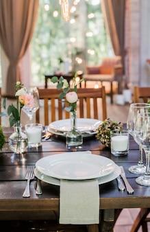 Bruiloft decoratie.