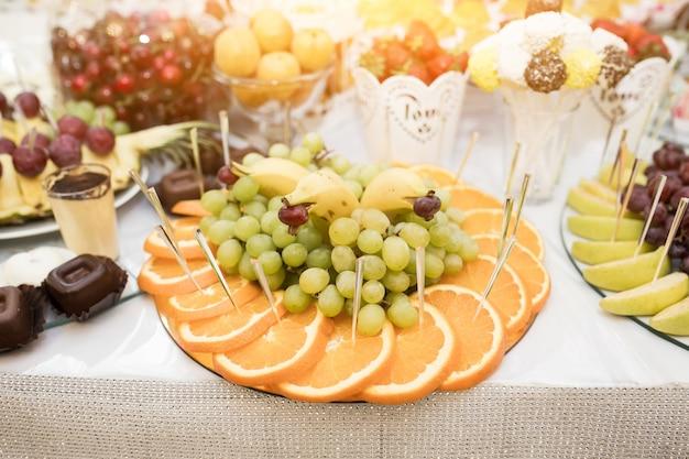 Bruiloft desserts