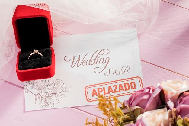 Bruiloft geannuleerd vanwege covid19