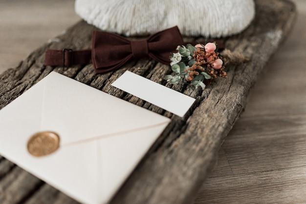 Bruiloft, kalligrafie vintage