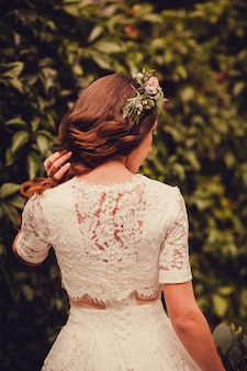 Bruiloft kapsel