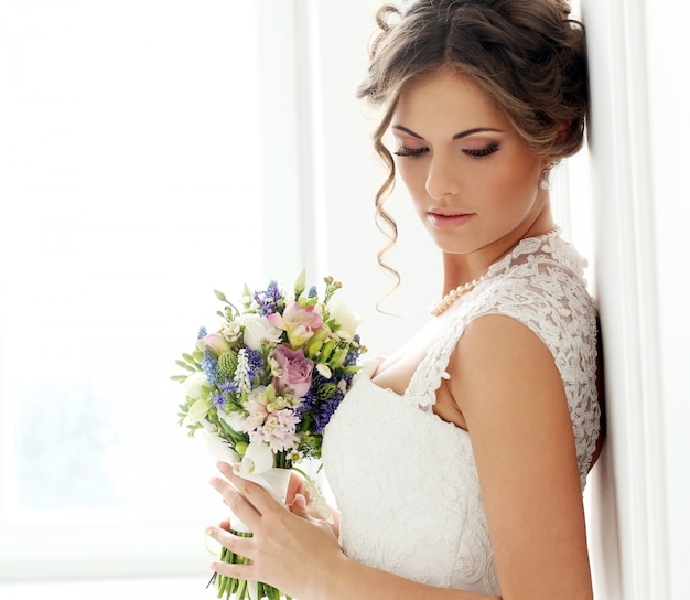 Bruiloft. mooie bruid