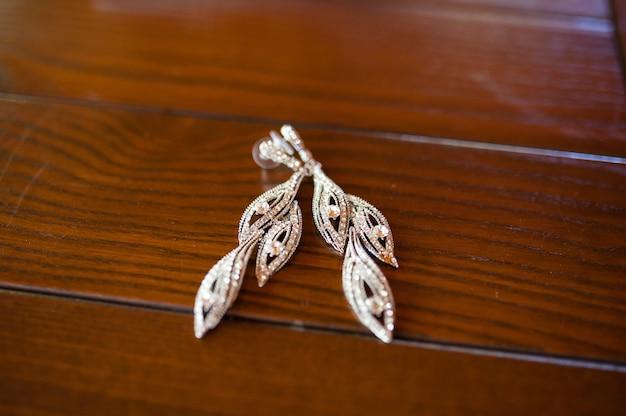 Bruiloft oorbellen