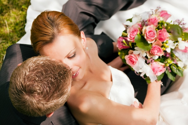 Bruiloft, tederheid