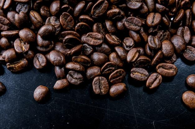 Bruin gebrande koffieboon