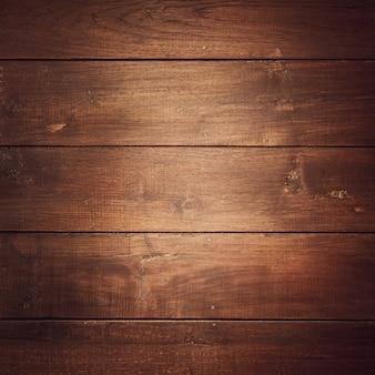 Bruin hard hout genageld.