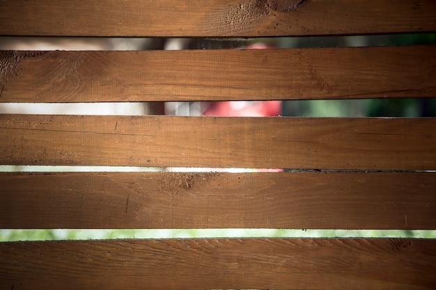 Bruin hek