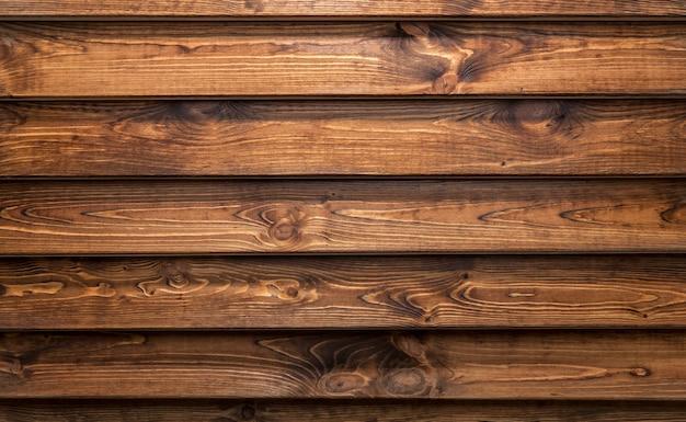 Bruin hout.