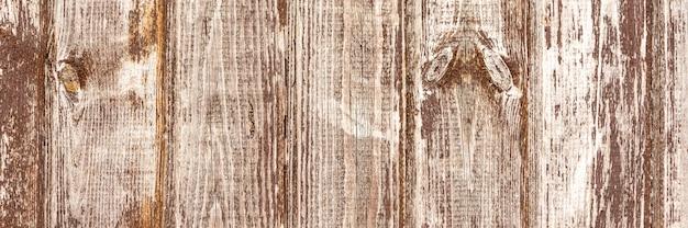 Bruin houtstructuur banner.
