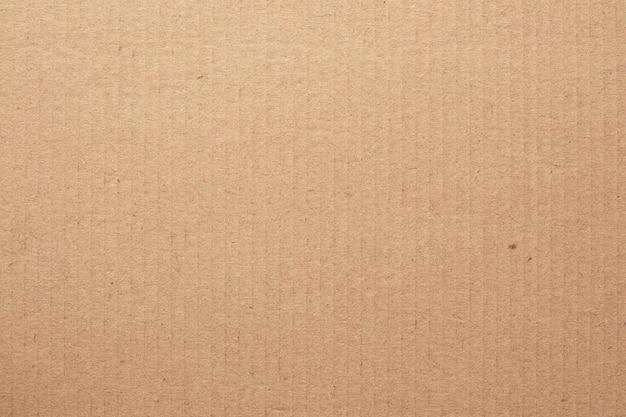 Bruin kartonnen blad, textuur van kringloopdocument vakje.