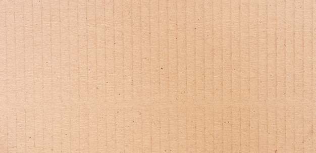 Bruin kartonnen oppervlak
