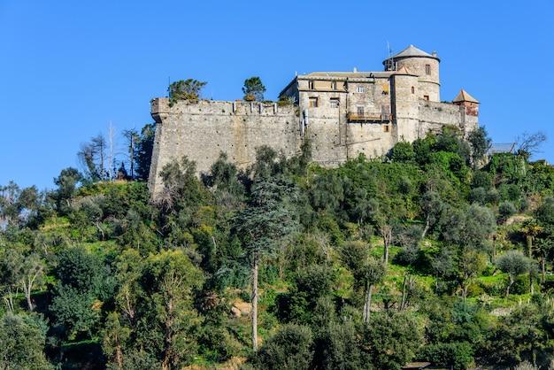 Bruin kasteel in portofino