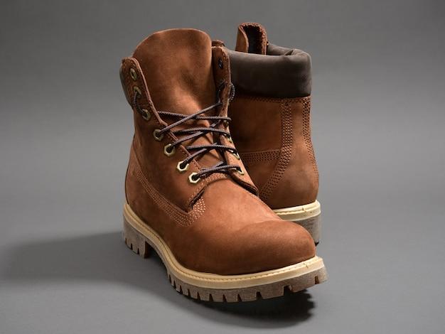 Bruin lederen schoenen
