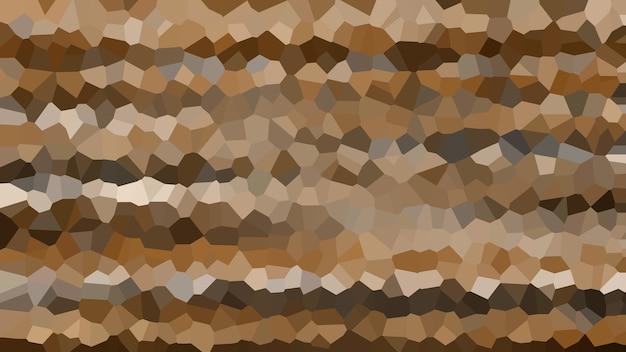 Bruin mozaïek abstracte textuur achtergrond, patroon achtergrond behang