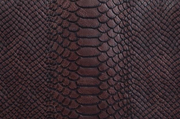 Bruin natuurlijk leder textuur achtergrond