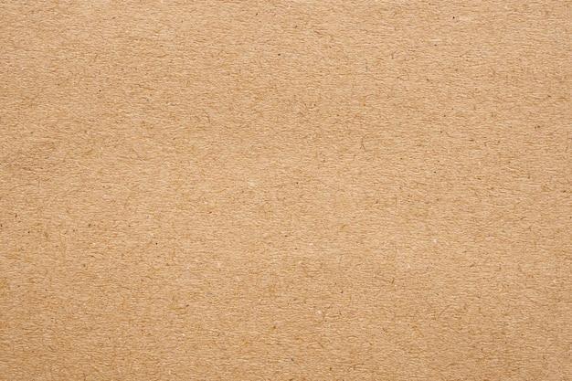 Bruin papier eco gerecycled kraft blad textuur kartonnen achtergrond