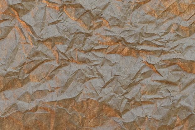 Bruin verfrommeld papier achtergrond
