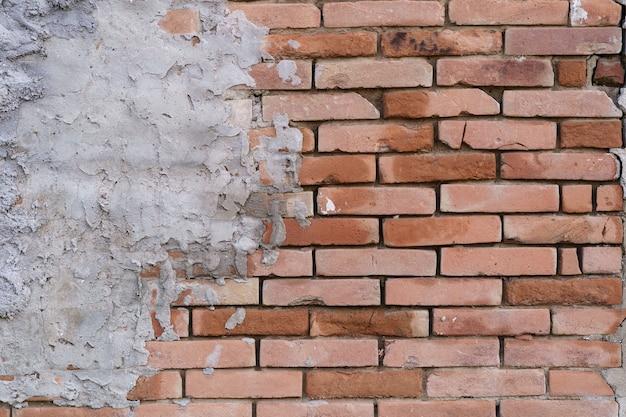 Bruine bakstenen muur achtergrond. bakstenen muur achtergrond