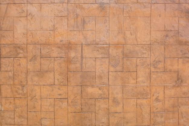 Bruine bakstenen muur van textuurachtergrond.